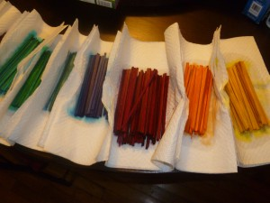 Drying Stir Sticks